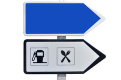 Two direction signs Stock Photography