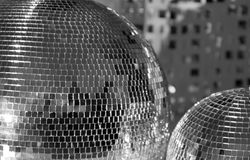 Two discoballs Stock Photography