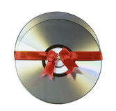 Two discs as a gift Royalty Free Stock Photo