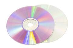 Two discs Royalty Free Stock Images