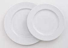 Two dishes Royalty Free Stock Photos