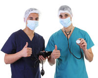 Two doctors Stock Photography