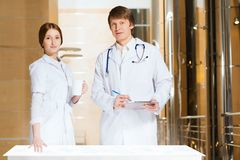 Modern medical research Stock Photography