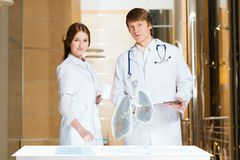 Modern medical research Royalty Free Stock Photos
