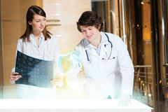 Modern medical research Stock Photo