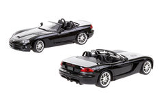 Two Dodge Viper RT10 Toy Cars Stock Photos