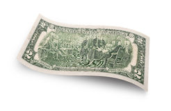 Two dollar banknote Royalty Free Stock Image