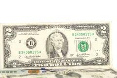 Two dollar bill Stock Photo