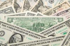 Two dollar bills Stock Image
