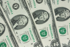 Two-dollar bill. United States two-dollar bill background stock photography
