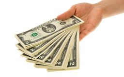 Two-dollars collection Royalty Free Stock Photo