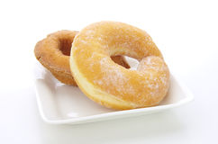 Two Donuts Stock Image