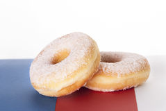 Two Donuts Royalty Free Stock Images