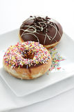 Two Donuts II Royalty Free Stock Photo