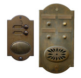 Two door bells Royalty Free Stock Photo
