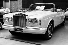 Two-door convertible Rolls-Royce Corniche IV Stock Image