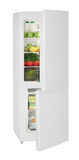 Two door white refrigerator Royalty Free Stock Photos