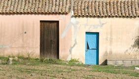 Two doors Stock Photo