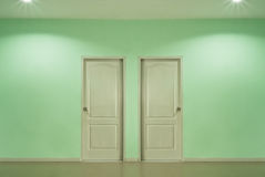 Two doors Stock Photography