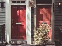 Brooklyn neighbourhood, New York City. Stock Image