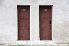 Two doors Stock Image