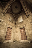 Two Doorways at the New Mosque Royalty Free Stock Images
