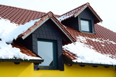 Dormers Royalty Free Stock Photo