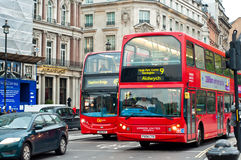 Two double decker buses Stock Photography