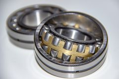 Two double row spherical roller bearings Stock Photography