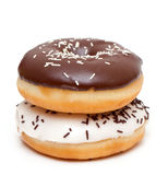 Two doughnuts Stock Photos