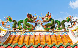 Two dragon Royalty Free Stock Photo