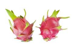 Two dragon fruit Royalty Free Stock Photo