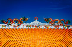Dragon Chaina. In Thailand Stock Image