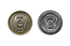 Two drink cans Stock Photos