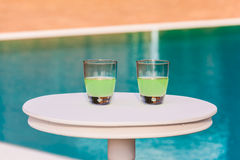 Two Drinks Royalty Free Stock Photography