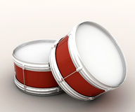 Two drums. Drum, or in your own words to say a percussion instrument Stock Photo
