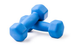 Two of dumbbells Stock Photography