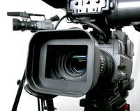 Two dv-camcorders Royalty Free Stock Photos