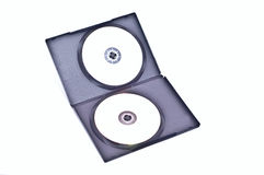 Two dvd Royalty Free Stock Images