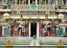 Two Dwarapalakas, door keepers of Lord Shiva. Stock Images