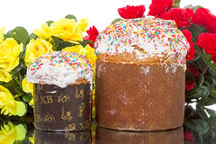 Two Easter cake Stock Photo