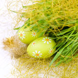 Two Easter Eggs Stock Image