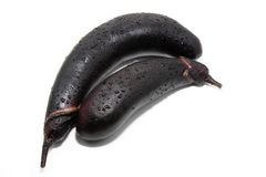Two eggplant Stock Photo