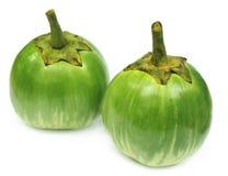 Two eggplants Royalty Free Stock Image
