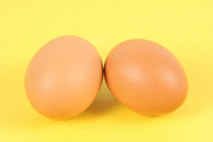 Two eggs Stock Photo
