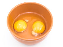 Two eggs Stock Photography