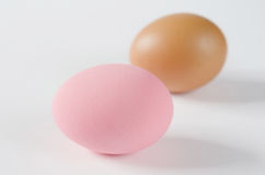 Two of eggs Stock Image