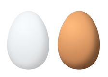 Two eggs Royalty Free Stock Image