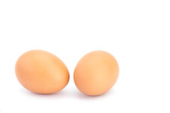 Two eggs Royalty Free Stock Photography