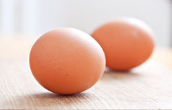 Two eggs food Royalty Free Stock Photography